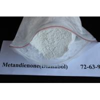 China Muscle Gain White Oral Dianabol / Dbol Raw Powders CAS 72-63-9 wholesale