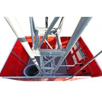 2 Ton High Capacity Construction Material Lifting Hoist with Mast Hot-dip Galvanized