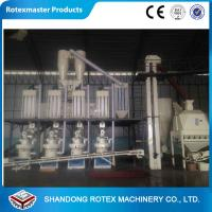 China Capacity 2.5-3.5 T/ H Wood Fuel Pelleting Machines , Wood Pellets Maker YGKJ850 wholesale