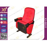 China High Back Leather / Fabric VIP Cinema Room Seating Home Theater Chairs Durable wholesale