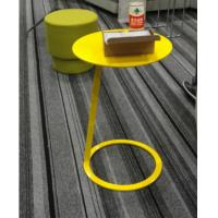 China Small Side Round Metal Coffee Table Simple Design Optional Colors For Home wholesale