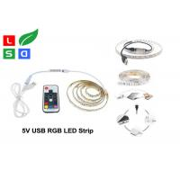 China CRI >80 LED Commercial Lights USB Plug Rgb Flexible LED Strip For TV Background wholesale