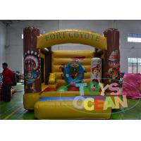 China Residential Bouncing Inflatable Bounce House Moonwalk For Amusement CE wholesale