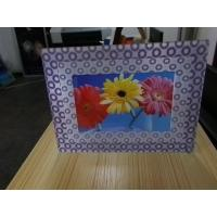 China OK3D A5 size dot fly eye photo frames round dot 3d photo frames fly eye 3d photo frames with depth 3d effect 360 wholesale