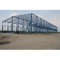 Wholesale ISO Standard Larger Span Workshop Steel Structure Construction from china suppliers