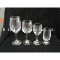 China freezer drinking glass cups, wine goblet glass wholesale