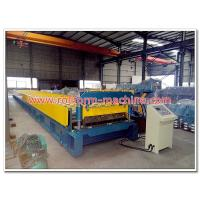 China Low Price H75 Steel Floor Deck Profile Cold Metal Roll Forming Machine for Russia Market wholesale