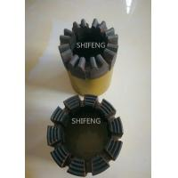 China 75mm OD NQ Core Bit For Granite  , Hollow Core Diamond Drill Bits Standard Sizes wholesale