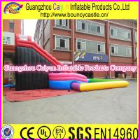 China PVC Material Inflatable Water Swimming Pool Slide wholesale