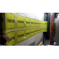 China Reflective Single Side PVC Vinyl Banners For Highway / Warning Sign wholesale