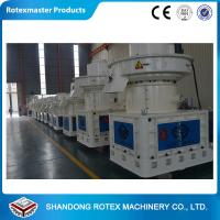 China Malaysia Clients 5-6t/H Capacity Ring Die Pellet Machine / Mill White Or Green wholesale