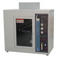 Buy cheap Fire Flame Plastic Burning Test Chamber UL 94 Standard AC 220V 50Hz from wholesalers