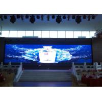 China Full Color RGB Large Led Display Board Meanwell Power With High Density , FCC UL Listed wholesale