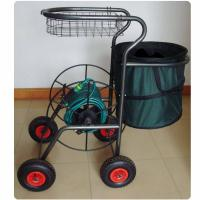 "Multi Functional , Hose Reel Cart, Four Wheels, 110M (360F) Length Capacity for 3/4"" Hose"