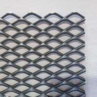 China Hot Dip Galvanized Stainless Steel Expanded Metal Lath , Flat Expanded Metal Mesh wholesale