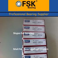 China Mechanical Parts Bearings 6007 2RS General Mechanical Components Deep Groove Ball Bearings wholesale