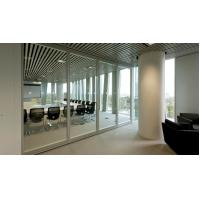 China Movable Partition Walls Aluminium Glass Office Partition For Conference Center wholesale