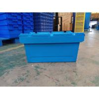 China Larger Logo Printing Stack Nest Plastic Attached Lid Containers wholesale