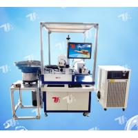China Automatic CO2 Laser Marking Machine For Natural Agglomerated Tapered Cork Stopper wholesale