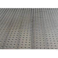 China Steel Aluminum Perforated Metal Mesh Sheet 0 . 8mm - 2mm For Protection Decoration wholesale
