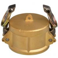 """Wholesale Cam Lock Part air hose fittings DC 2 1/2"""" Male Dust Cap Brass with Buna Nitrile from china suppliers"""