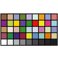 China AC220V Reflective DTV Color Rendition Test Chart Sineimage YE0226 wholesale