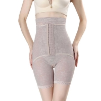 China Hook And Eye Button Nylon High Waisted Shaper Shorts Plus Size 4XL For Summer wholesale