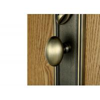 Quality Luxury Brass Door Handles American Standard Cylinder Zinc Alloy for sale
