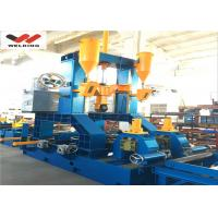 China Automatic h beam welding machine Mutifuctional Steel Welding Straightening Automatic Combined H Beam wholesale