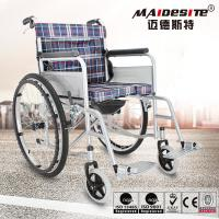 China Maidesite Lightweight Manual Wheelchair Customized Color Easy Cleaning wholesale
