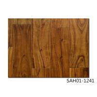 China small leaf Acacia Handscraped, UV lacquer, HDF engineered flooring, 3-layer, UV lacquer wholesale