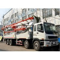 China 37 Meter Used Concrete Pump Truck Dongfeng Brand 1200mmx2490mmx3850mm on sale