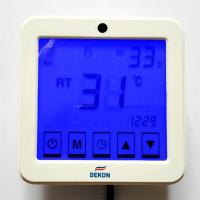 China 220V LCD Touch Screen Room Underfloor Heating Thermostat Weekly Programmable Thermoregulator Temperature Controller wholesale