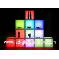 China Free combination Containers cleanable LED Cube Furniture with Remote Controller wholesale