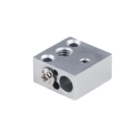 China Aluminum Alloy 20*20*10mm 7g 3D Printer Heating Block Use For CR10 wholesale