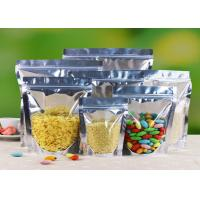 Buy cheap Eco Friendly Stand Up Aluminum Foil Food Packaging Bags Witn Window from wholesalers