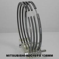 China 8DC10 MITSUBISHI Piston Ring Set with 8 Cyl Moly-inlaid OEM ME090582 on sale