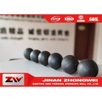 China Mining Sag and AG mill special use forged and cast grinding steel balls wholesale
