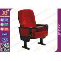 China Embroidery Customized Wooden Back & Seat Conference Hall Chairs With 5 Years Warranty wholesale