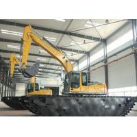 China Operating Weight 33000 Kg Amphibious Excavator Machine For River Channel wholesale