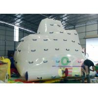 China Giant Inflatable Floating Inflatable Water Toys For Aqua Iceberg Climbing wholesale