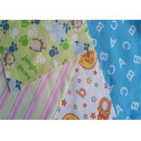 China Fire Resistant Printed Cotton Flannel Material Double Sided Twill Style wholesale