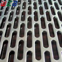 China slotted hole perforated metal sheet wholesale