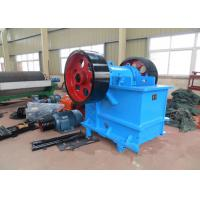China 100 TPH Rock Jaw Crusher / Rock Crushing Machine PE 500 × 750 mm Feed Opening wholesale