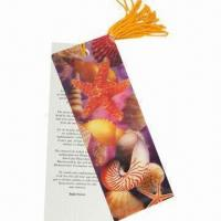 China 3D Bookmark, Made of Recycled PP with UV Offset Printing, Non-toxic and Eco-friendly wholesale