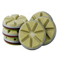China High Speed Diamond Floor Polishing Pads Convenient Without Left Waterlogging wholesale
