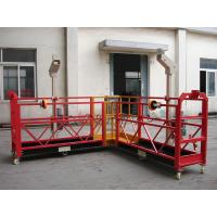 90 Degree Red Steel Rope Suspended Platform Cardle for Building Cleaning for sale