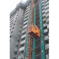 China Material Lift Construction Hoist Elevator with Schneider, LG Electric Parts on sale