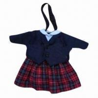China Toy doll clothes, eco-friendly material wholesale