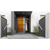 China 6063 - T5 Aluminum Framed Decorative Security Doors Powder Coating wholesale